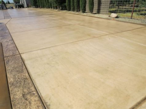 this image shows concrete driveway aliso viejo