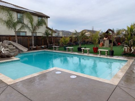 this image shows pool deck aliso viejo california