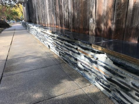this image shows stacked stone veneer in aliso viejo