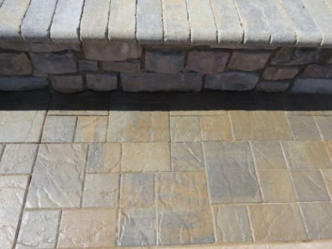 this image shows stamping concrete aliso viejo