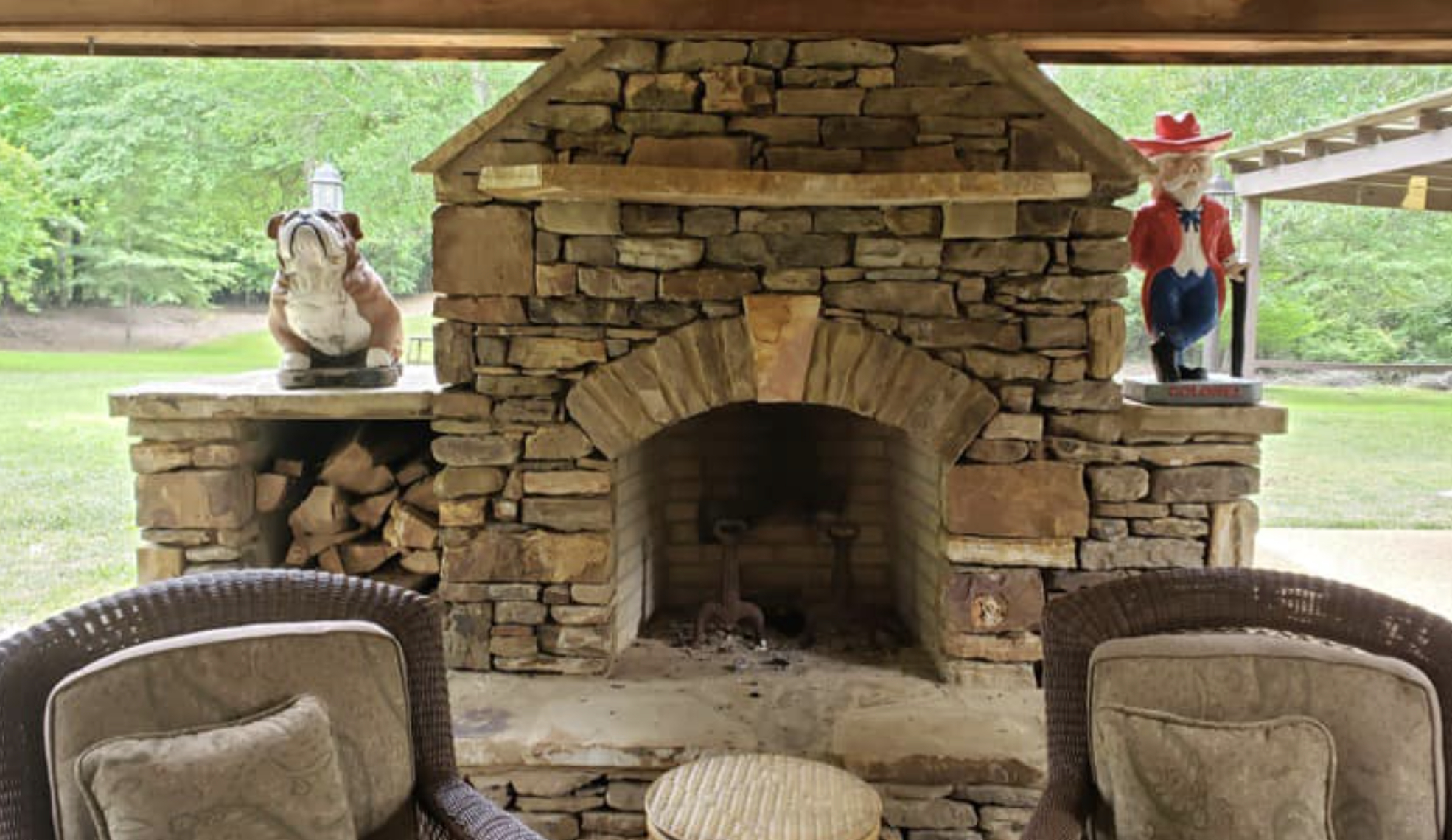 this image shows fireplace in Aliso Viejo, California