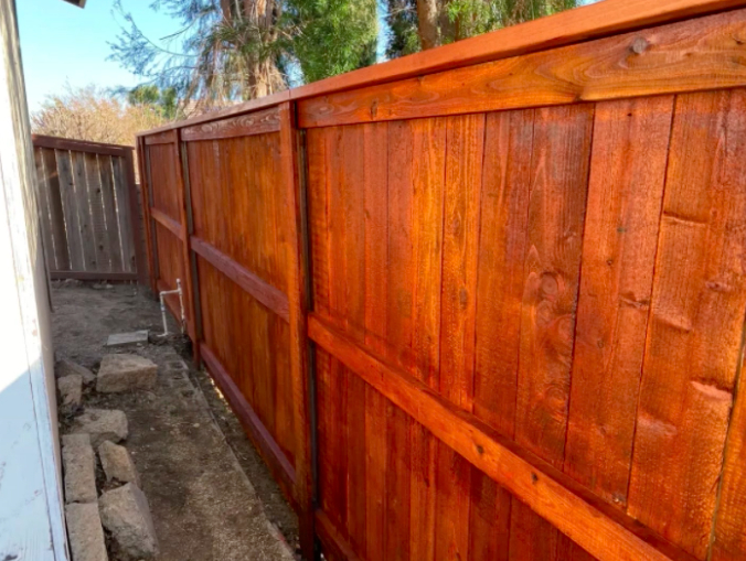 this image shows railroad tie retaining walls in Aliso Viejo, California