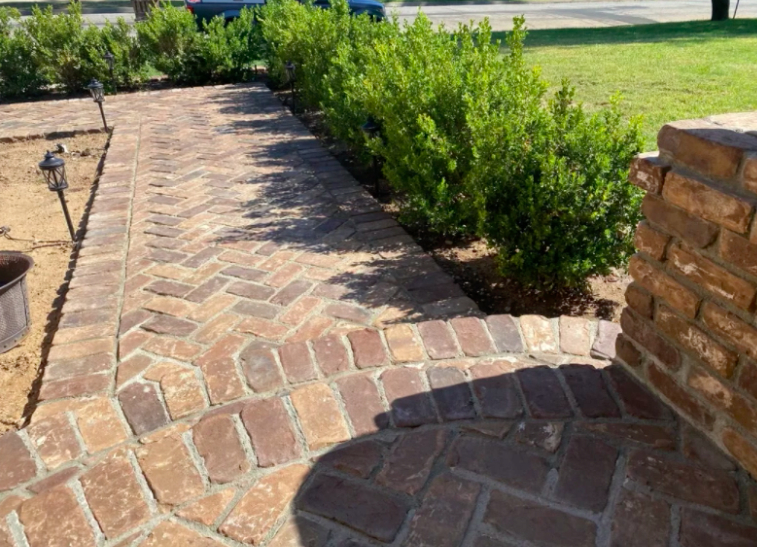 this image shows stone pavements in Aliso Viejo, California