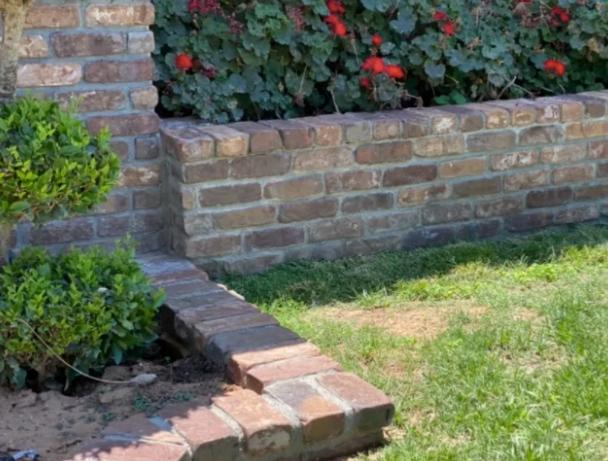 this image shows stone veneer in Aliso Viejo, California