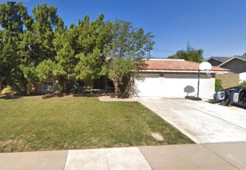 this image shows driveway in Aliso Viejo, California